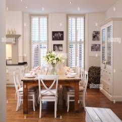 White Wooden Kitchen Chairs Curtains Amazon At Simple Wood Table In Modern