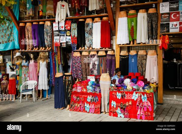 Clothing Shopping In Istanbul Turkey - Exploring Mars