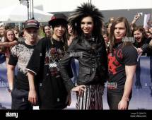German Band Tokio Hotel Poses Prior Bravo Supershow