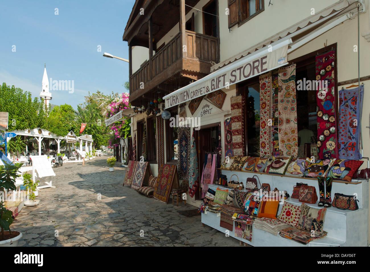 Asien Trkei Provinz Antalya Kalkan Geschft fr