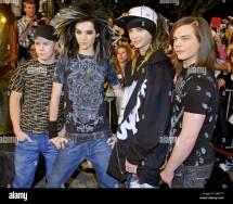 German Teenie Band Tokio Hotel Arrive Fort 27th Golden
