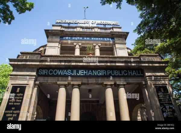 National Of Modern Art Mumbai India Stock