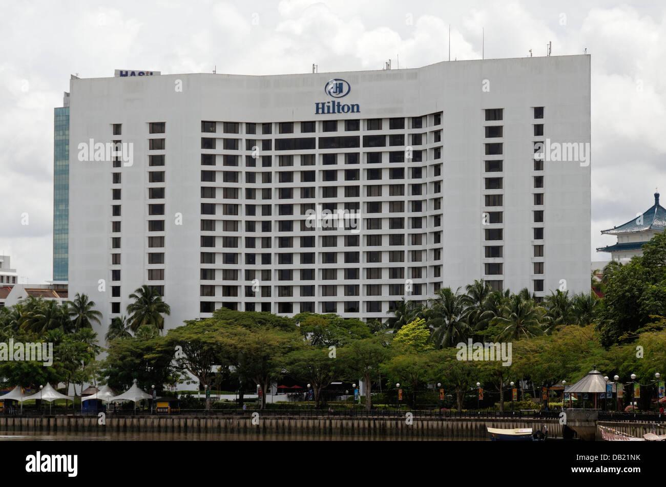 Hilton Hotel By The Riverside Kuching Sarawak Malaysia
