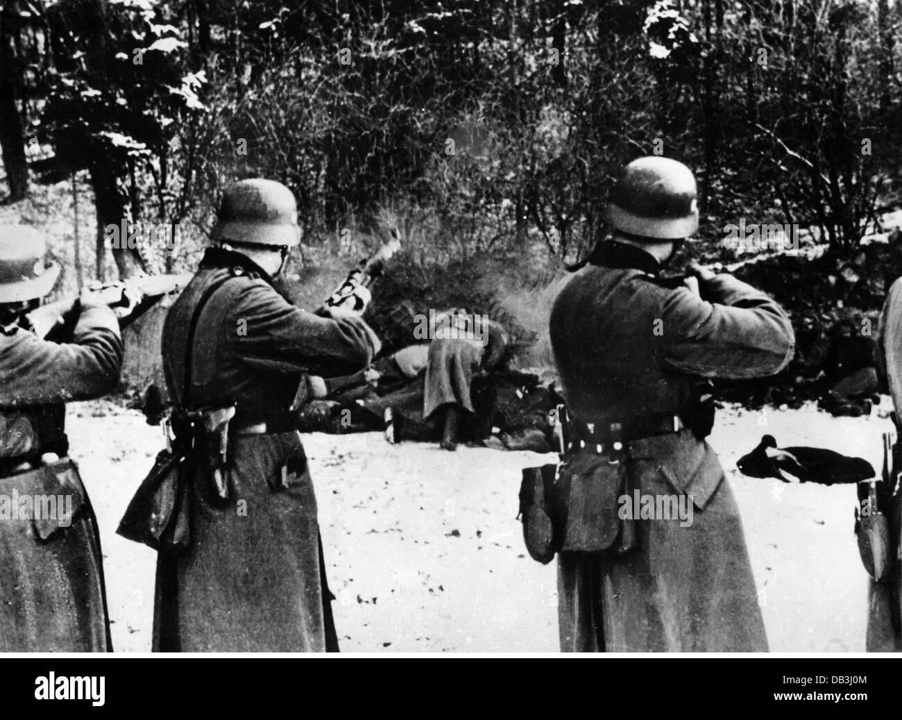 events Second World War  WWII Poland German occupation