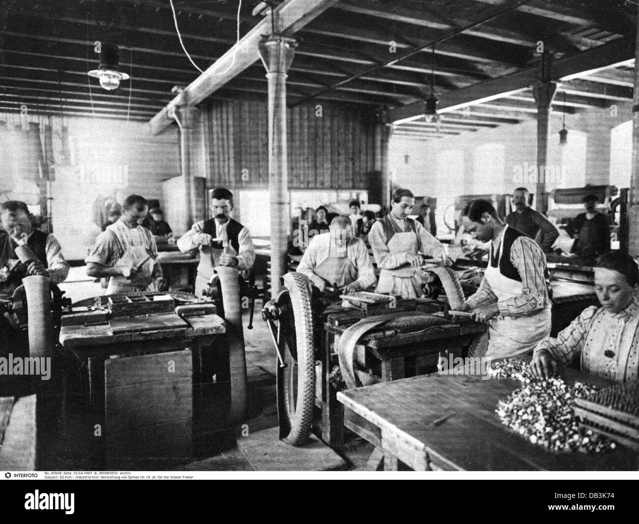 Revolution Textile Industrial Factory Worker