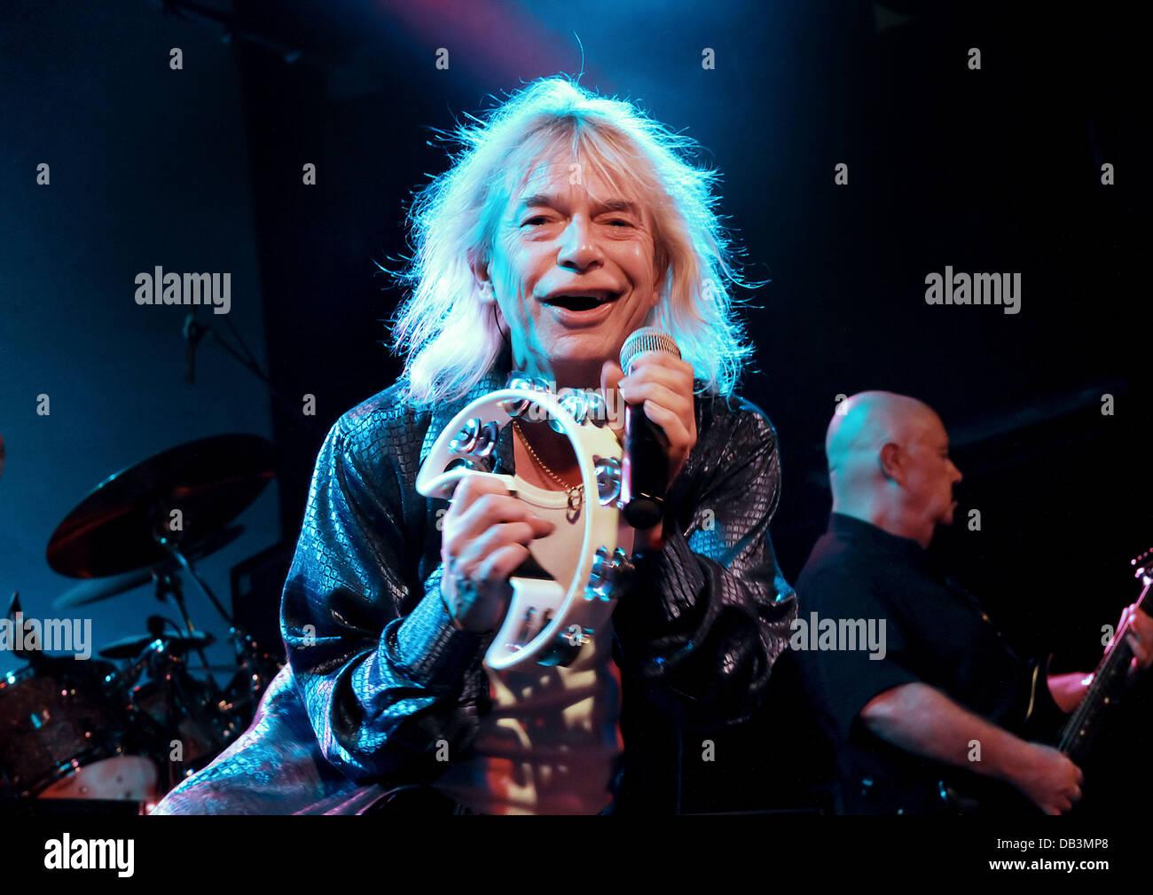Bob Catley Progressive Rock Band Magnum Performing at Liverpool Stock Photo: 58474480 - Alamy