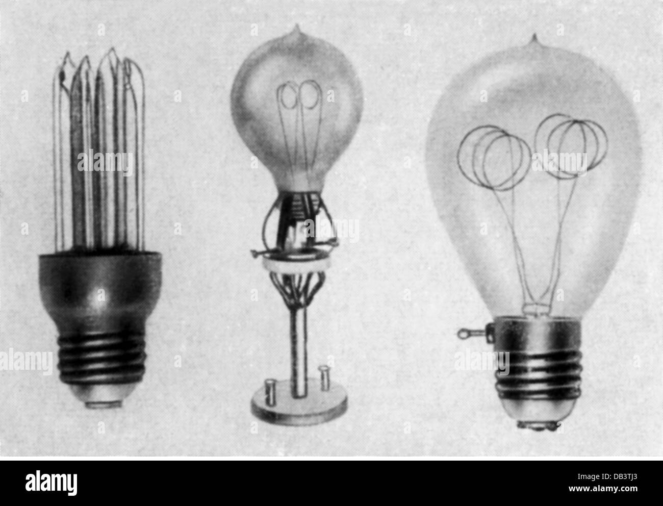 Energy Electricity Lamps Carbon Filament Lamps Germany