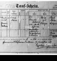 documents certificate of baptism sankt stefan am gratkorn styria austria 17 11 [ 1300 x 914 Pixel ]
