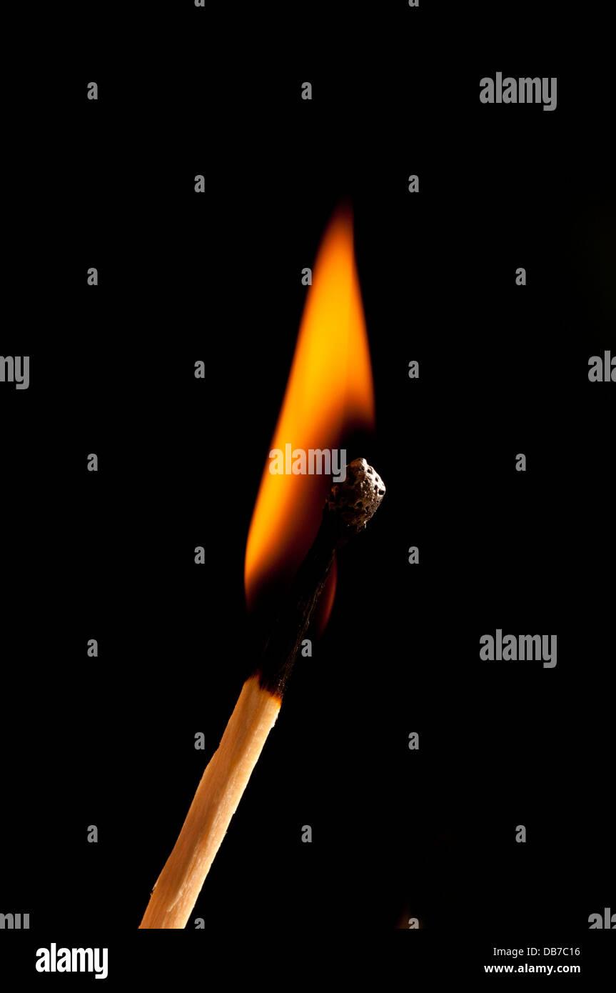 burning match stock photos