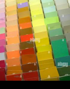 Florida hallandale beach walmart wal mart retail display sale paint department color chart also rh alamy