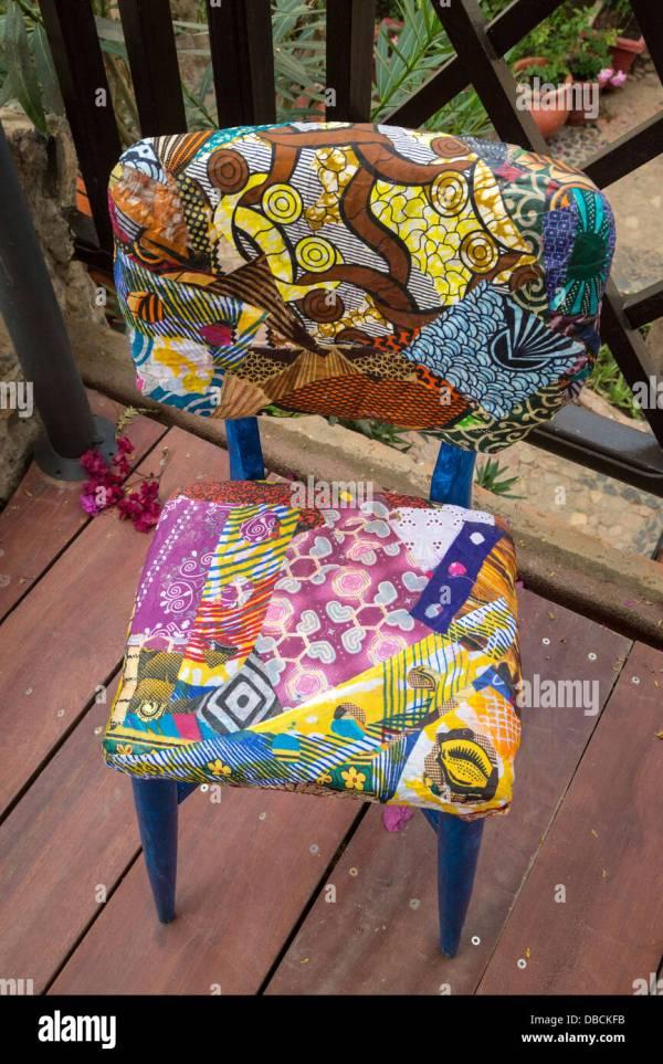 Colorful Artistic Furniture Artist Amadou Kane Sy