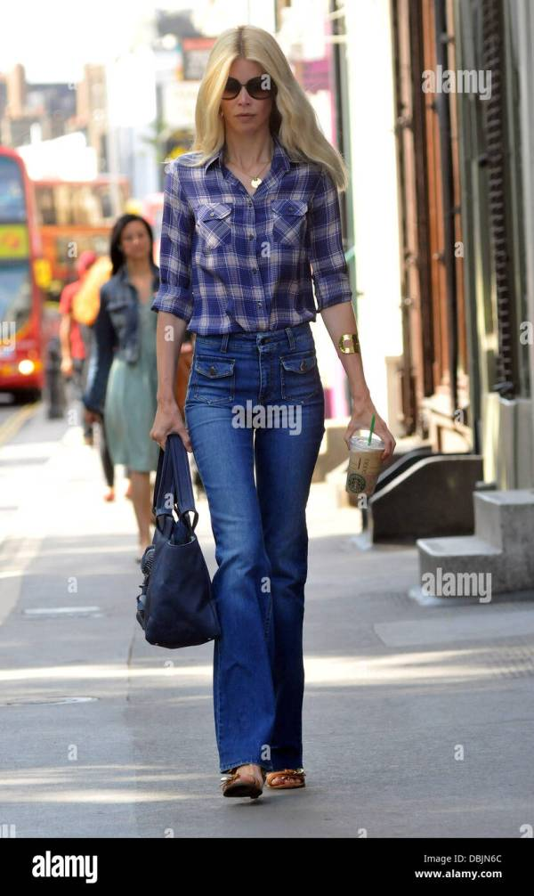 61fa8be61a5 20+ Claudia Schiffer Jeans Pictures and Ideas on Weric