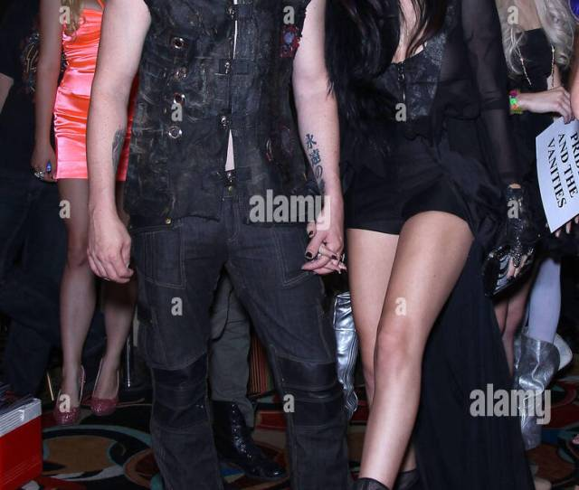 Wayne Static And Tera Wray Static The 2nd Annual Vegas Rocks Magazine Awards At The Las Vegas Hilton Hotel And Casino Las Vegas Nevada