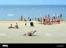 Beach Of Narva Essu Estonia Europe Stock