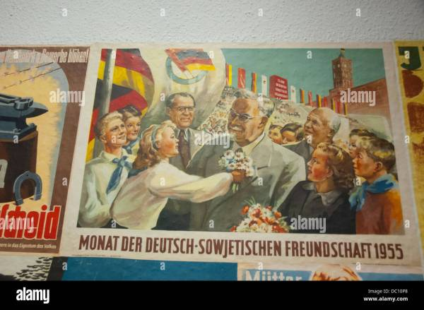 DDR East Germany Propaganda Posters