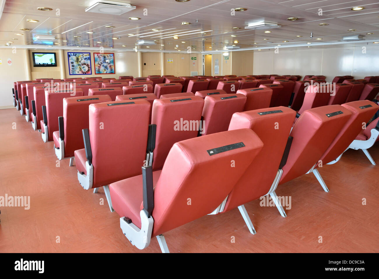chairs for sleeping bumbo chair reviews reclining on a corsica bound ferry france stock