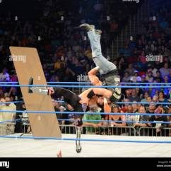 Steel Chair In Wrestling Folding For Living Room Tna Stock Photos And Images