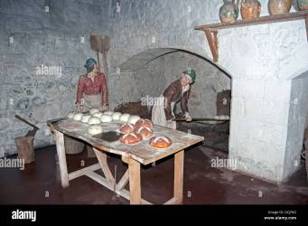 Medieval Kitchen High Resolution Stock Photography and Images Alamy