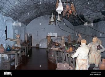 Medieval kitchen Stirling Castle Stirling Stirlingshire Scotland Stock Photo Alamy