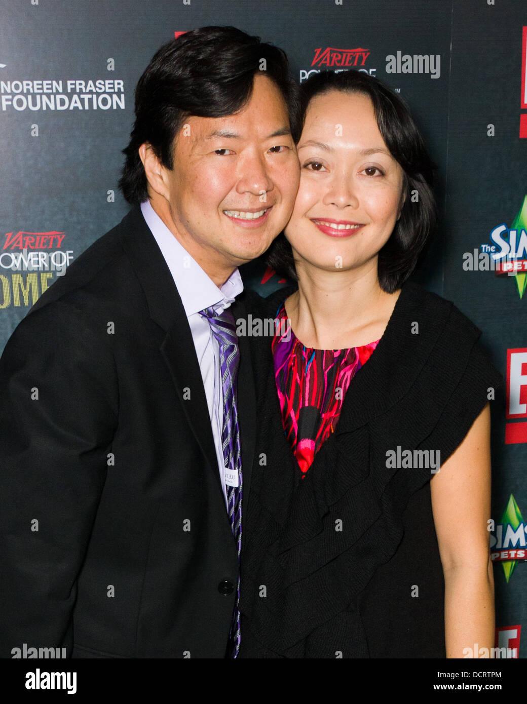 Ken Jeong And Tran Ho Stock Photo 59531324 Alamy