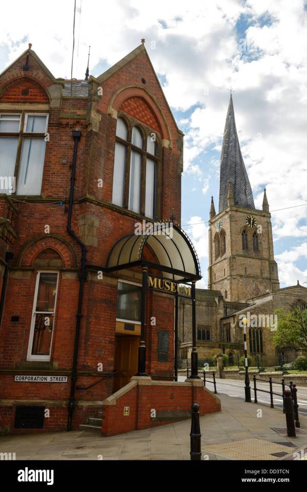 Chesterfield Town Spire Stock &
