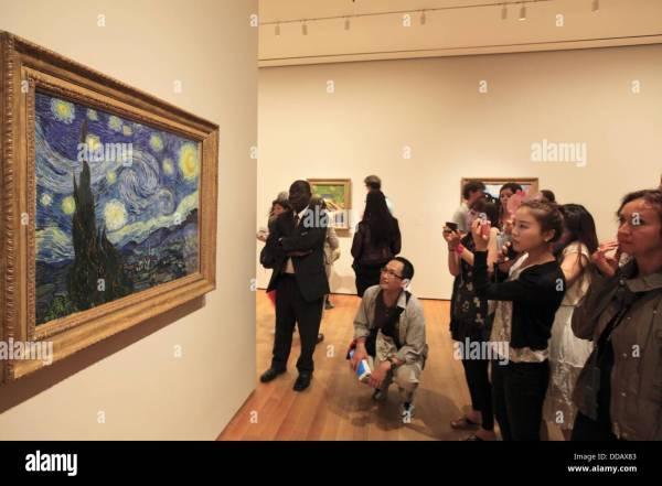 Van Gogh Starry Night Stock &