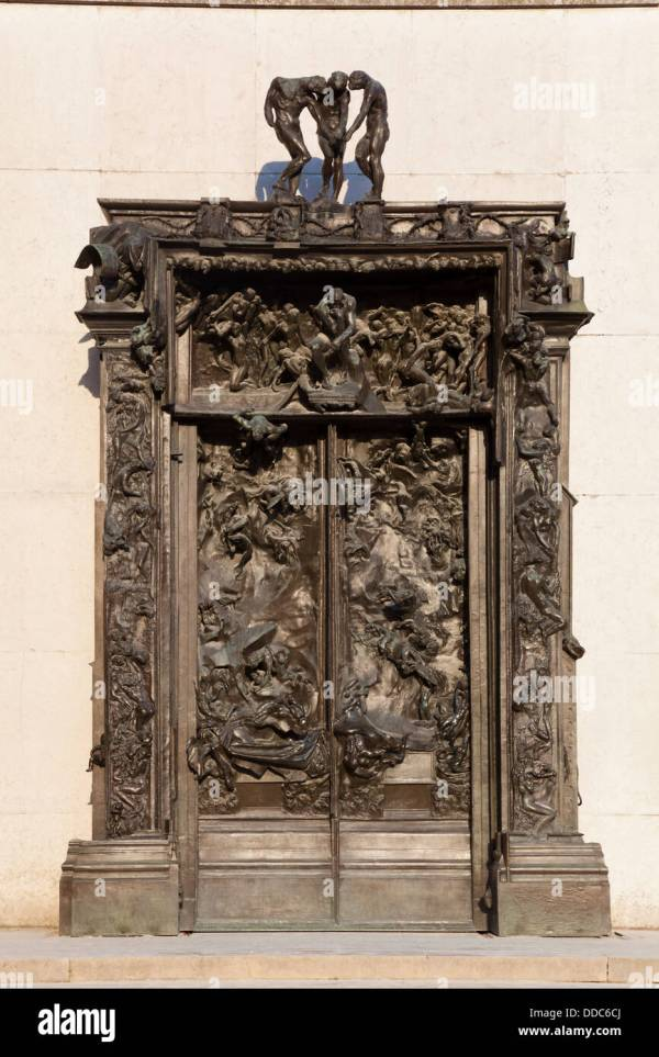 Gates Of Hell Rodin Stock &