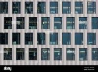 Office building facade. Zurich, Switzerland Stock Photo ...