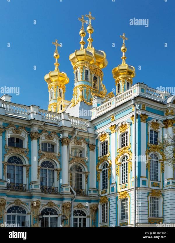 St. Petersburg Russia Buildings