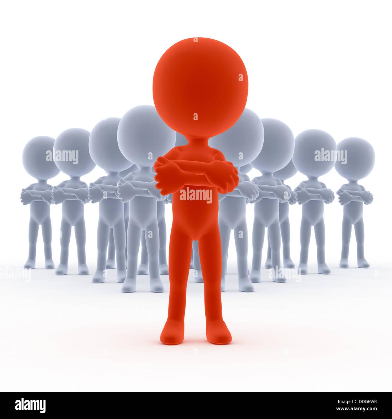 Leadership Team Leader Concept Stock Photo