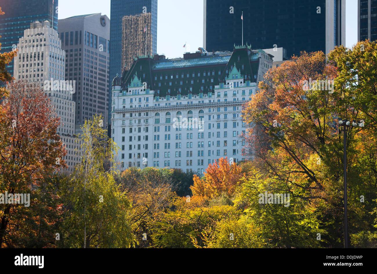 Plaza Hotel Central Park South Midtown Manhattan New York
