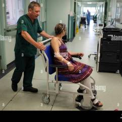 Wheelchair Jobs Chair Design Book Hip Op Stock Photos And Images Alamy