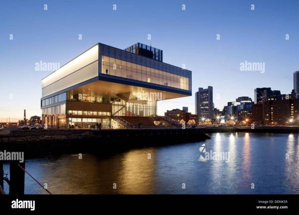 Diller Scofidio Renfro Institute of Contemporary Art Boston