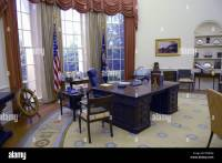 Presidents White House Oval Office at Gerald R Ford ...