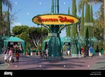 Downtown Disney Anaheim California