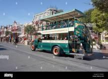 Disneyland Transportation Trolley Bus Anaheim