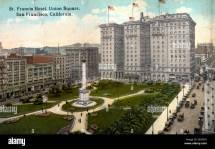 St Francis Hotel Union Square San Francisco California