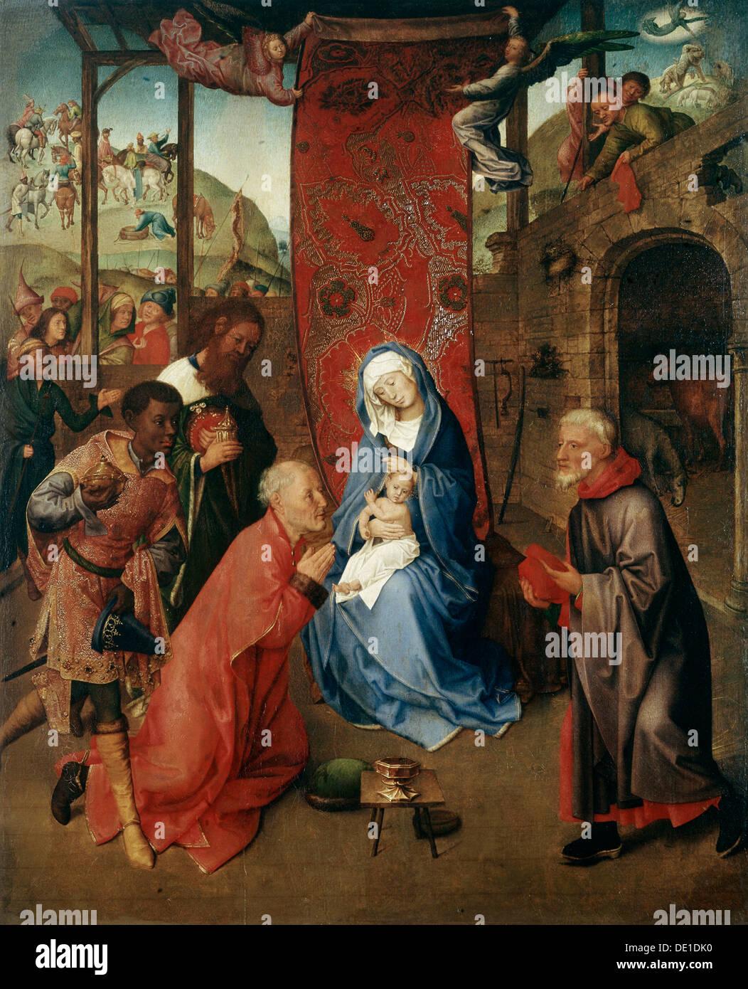 The Adoration Of The Magi 15th Century Artist Hugo