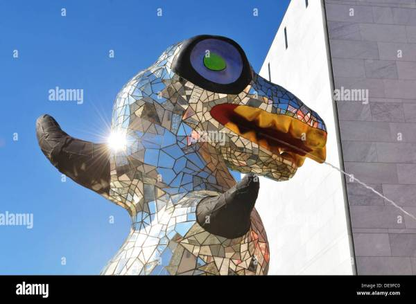 Modern Sculpture Contemporary Art Museum In Nice France Stock Royalty Free
