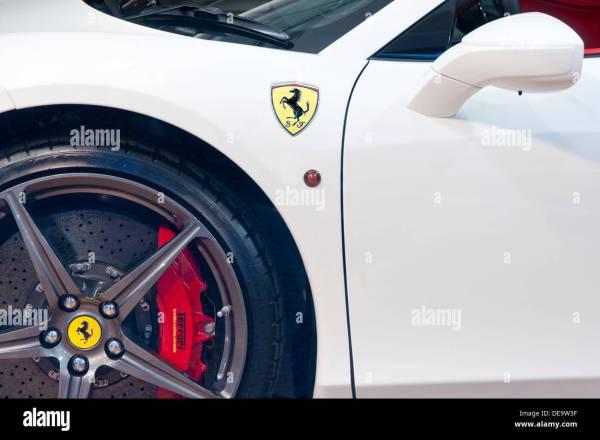 Ferrari 458 Spyder White