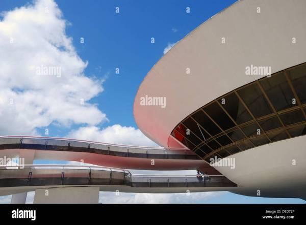 Niteroi Contemporary Art Museum Stock &
