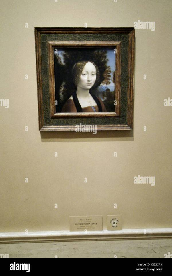 Leonardo Da Vinci Painting In National Of Art
