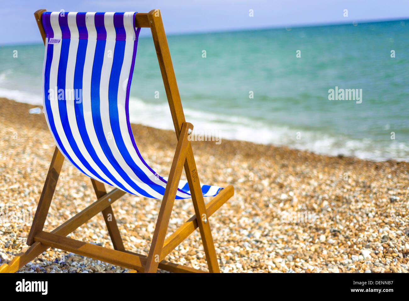 chair cover hire west sussex retro kitchen table and chairs yellow regis deck on beach stock photos