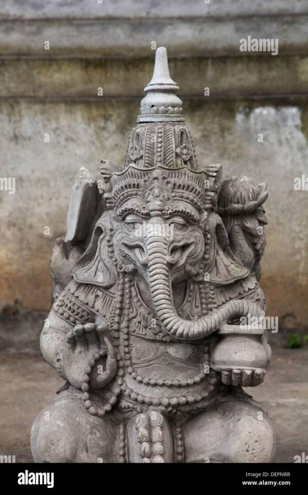 Religious Stone Carving Sculpture Statue Bali Asia Indonesia Figures Stock 60736363 - Alamy