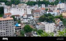 Santa Teresa Neighbourhood Rio De Janeiro Brazil Stock