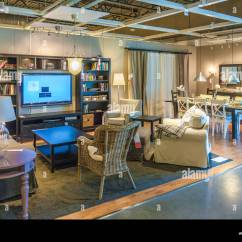 Ikea Usa Living Room Pictures Of Interior Design For Rooms And Dining Setup Display In An Store The
