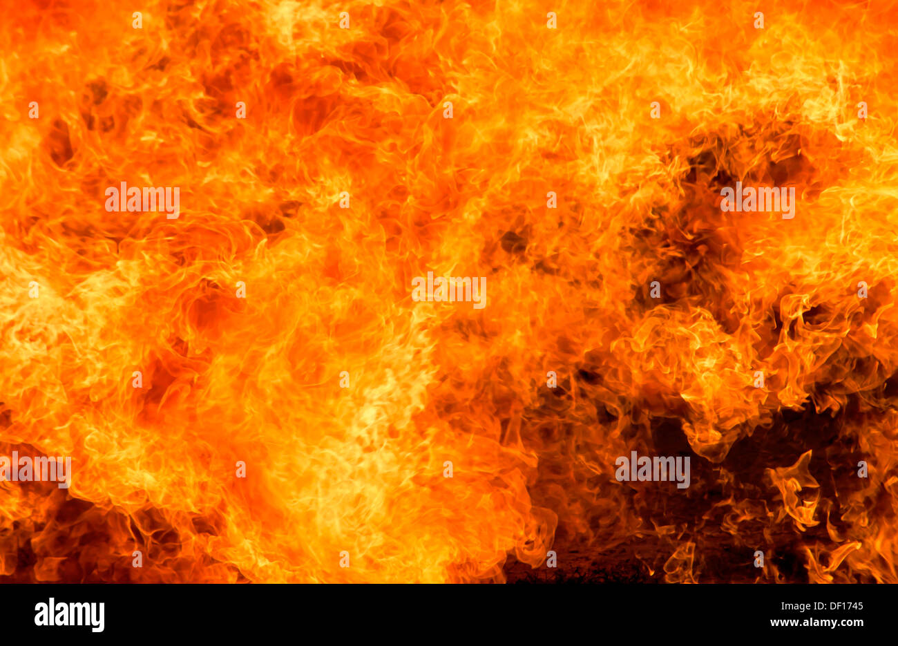 hight resolution of background burning flame red yellow heat energy