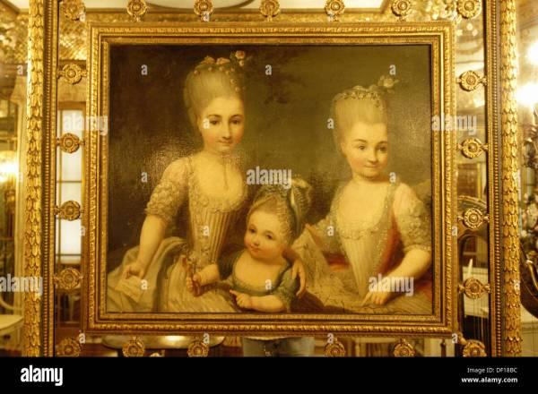 Venetian Painting Stock &