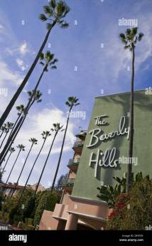 Beverly Hills Hotel. Sunset Boulevard. Los