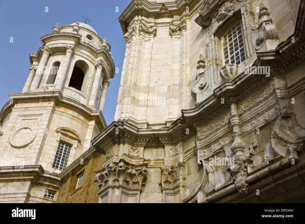 Cathedral Cadiz. Andalusia Spain Stock Royalty Free 60963353 - Alamy